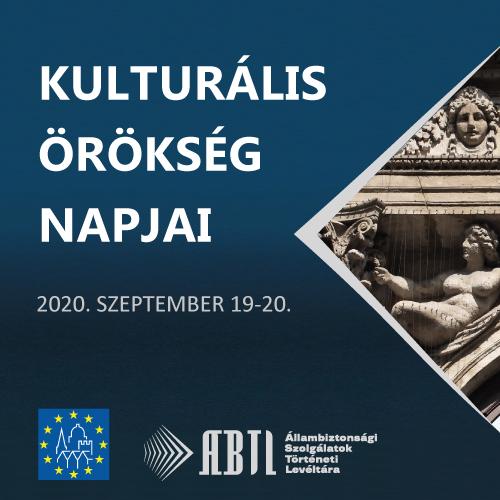 Kulturális Örökség Napjai 2020
