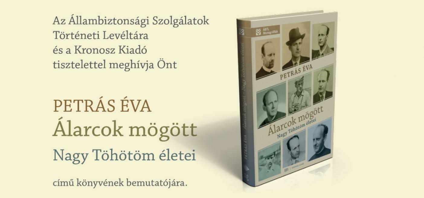 Petrás Éva könyvének bemutatója