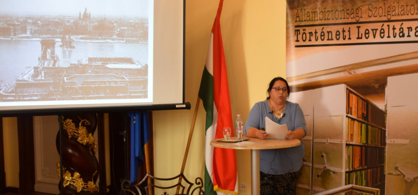Czene-Polgár Viktória előadása