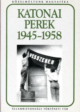 Katonai perek 1945-1958