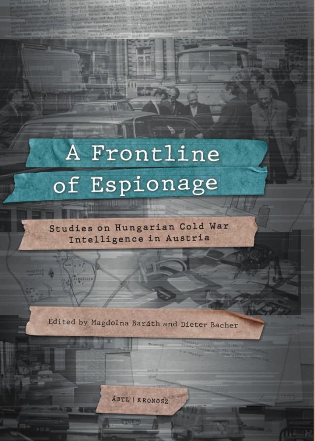 A Frontline of Espionage előlapja