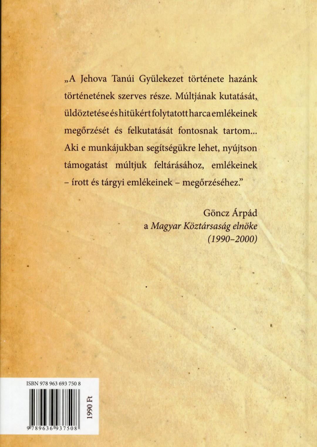 A magyarországi Jehova Tanúi Egyház története - A kezdetektől napjainkig